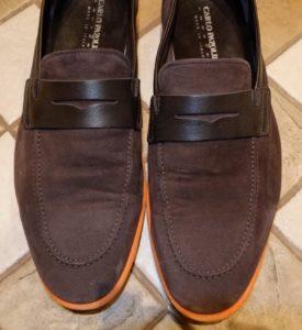 Почему появляются заломы на обуви