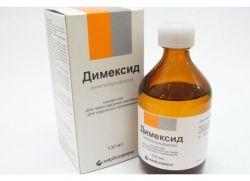 Препарат Димексид.