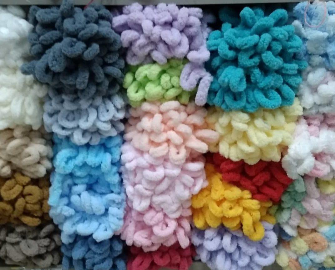 Пряжа ализе пуффи цвета