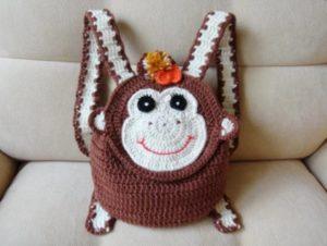 Рюкзак обезьянка