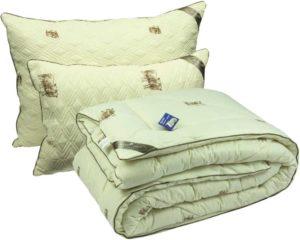 подушки и одеяла из шерсти овцы