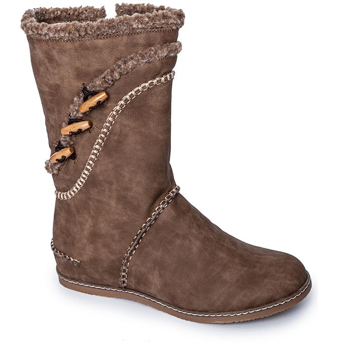 Сапоги искусственный нубук для обуви
