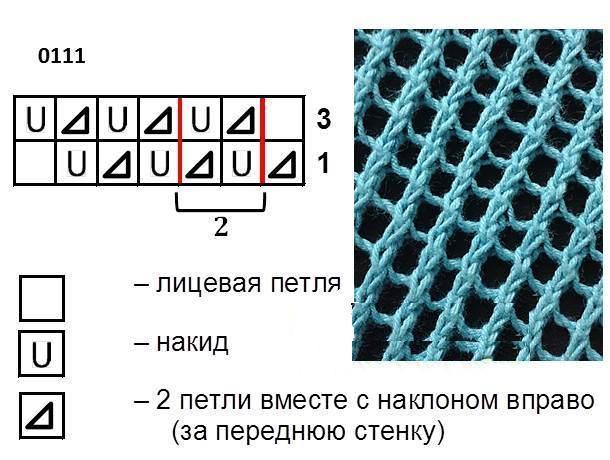 Туника схема сетки 1