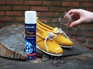 Водоотталкивающая пропитка для замшевой обуви