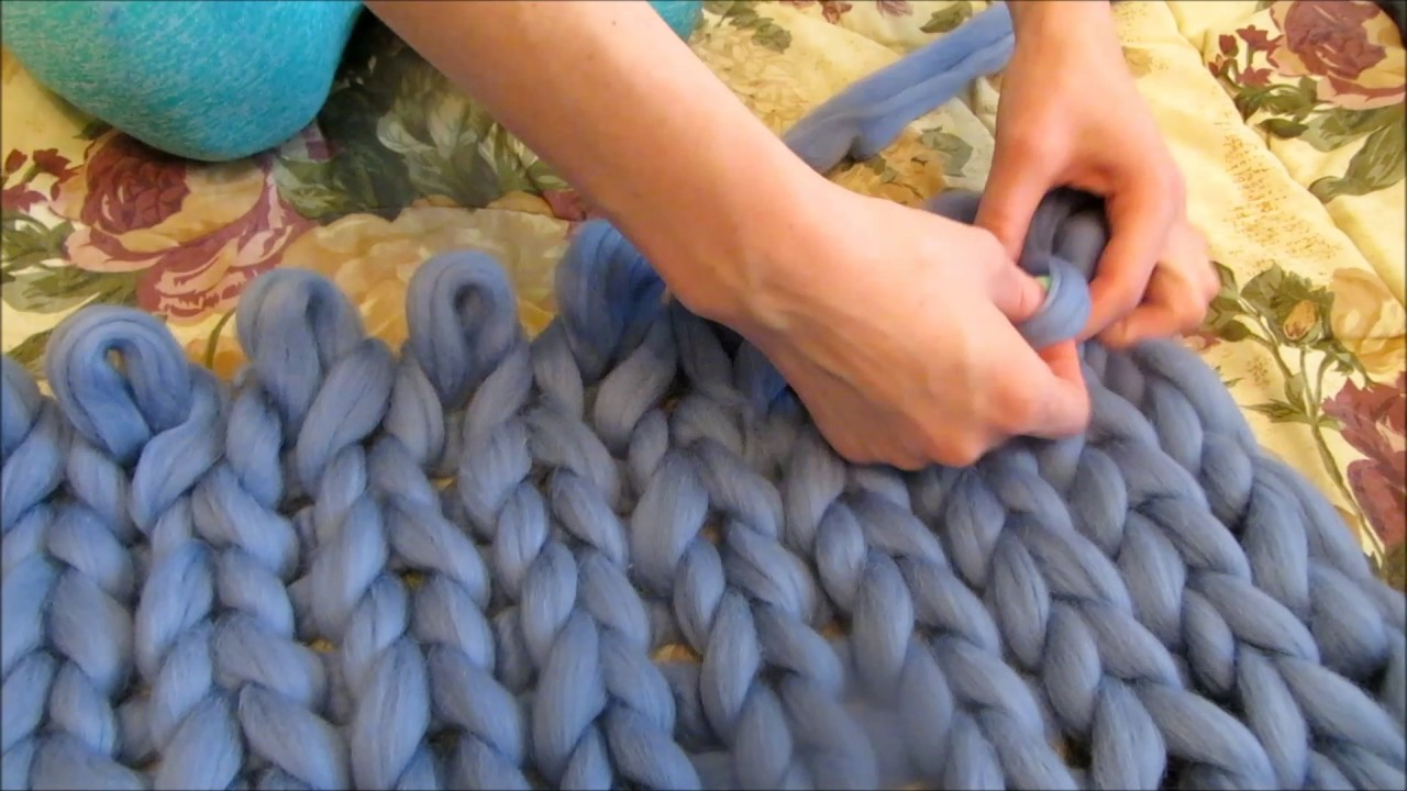 Вязание без спиц вязка 2
