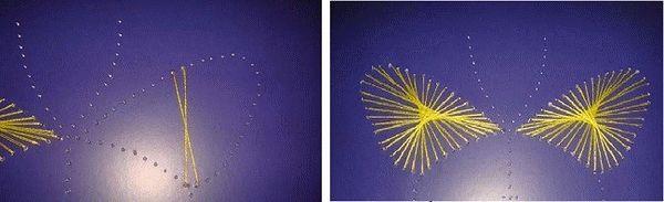 Вышивка бабочка 2