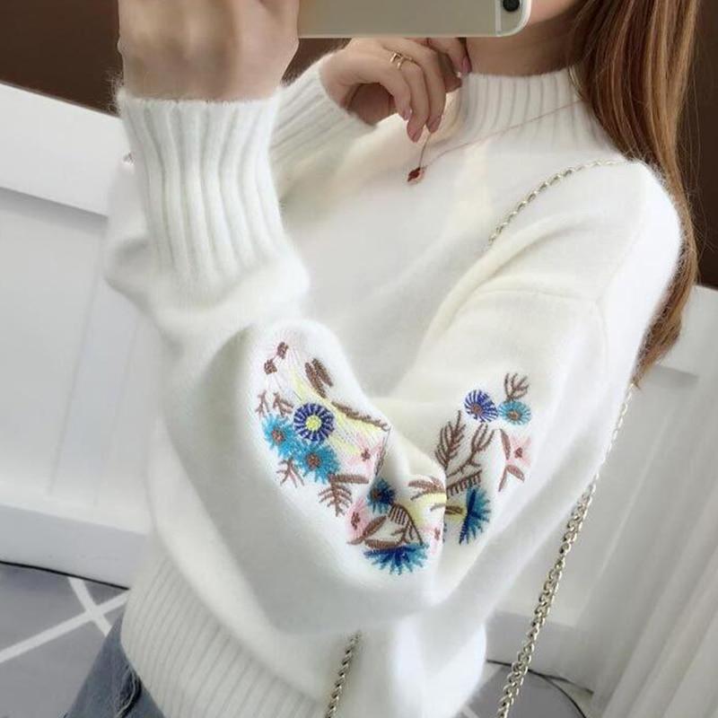 Вышивка на шерстяном блузоне