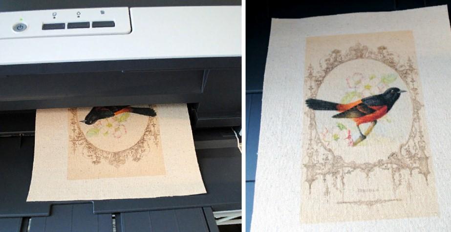 Вышивка перенос рисунка с принтером