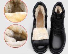 шерсть или мех теплее в обуви