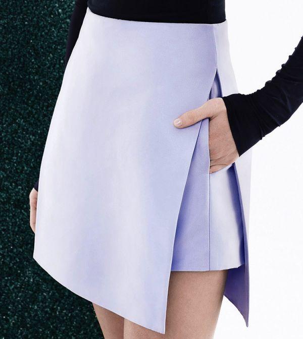 юбки с запахом фасоны