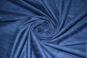 синяя замша