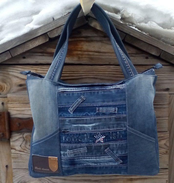 джинсовая сумка