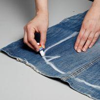изготовление джинсовой сумки