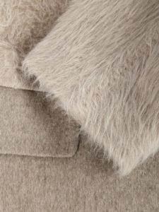пальто из смесовой шерсти