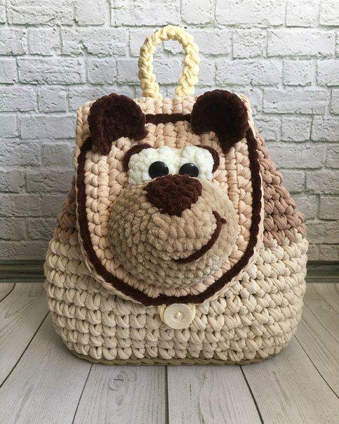 рюкзак-мишка