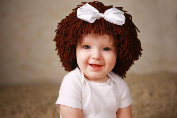 парик для ребенка