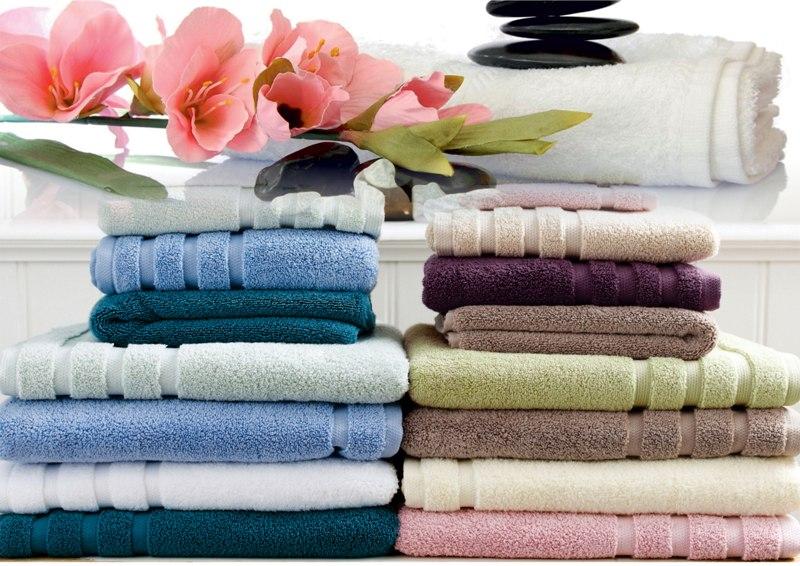 как складывать полотенца