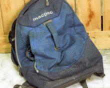 как постирать рюкзак