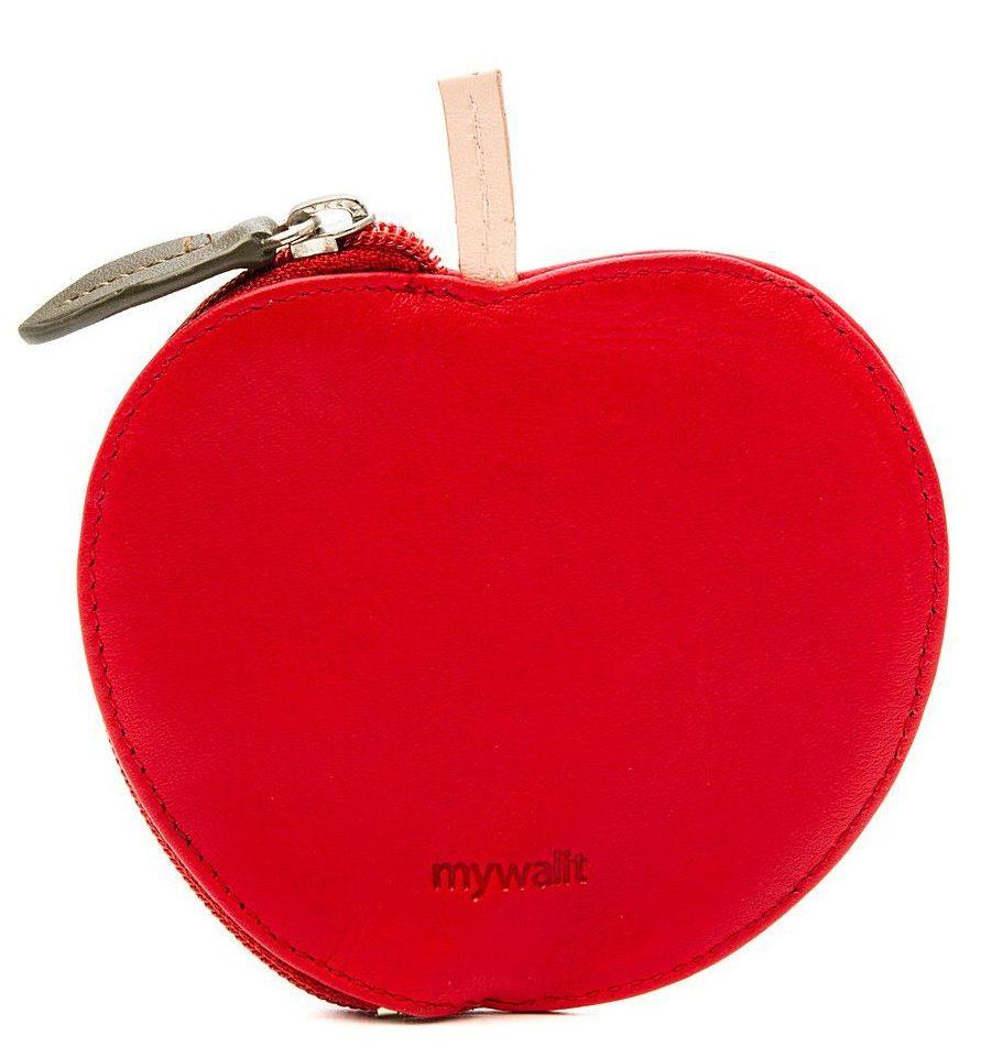 кошелёк яблоко