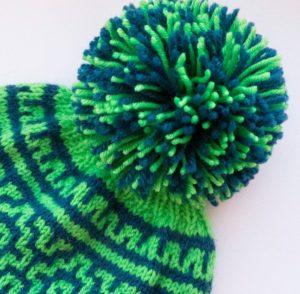 Помпоны из ниток для шапки