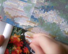вышивка по схеме