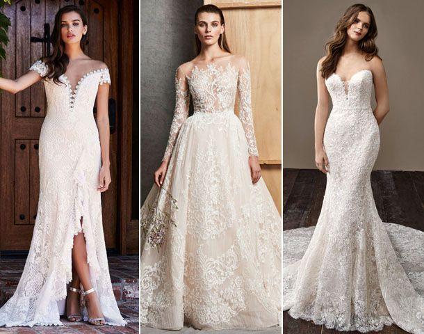 модны свадебные платья 2019