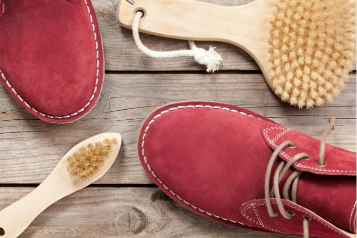 уход за обувью из велюра