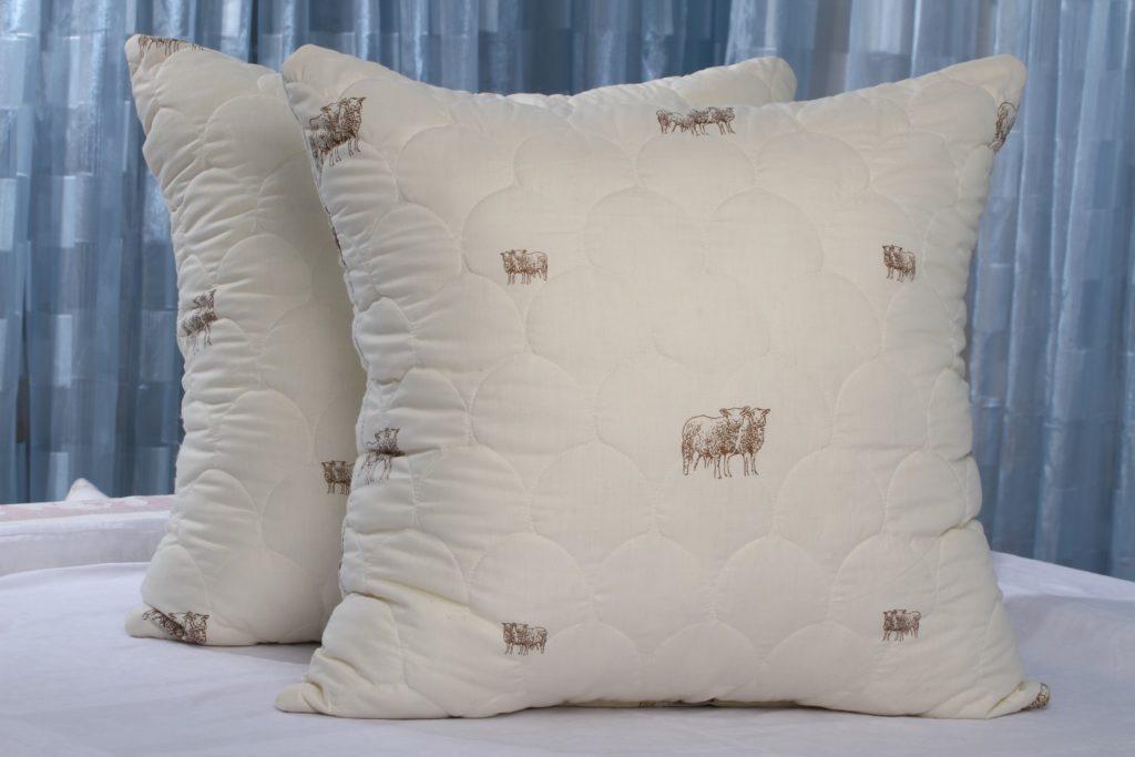 польза подушки из овечьей шерсти