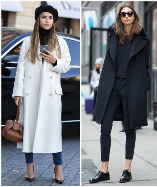 образы с пальто из драпа
