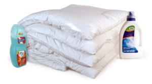 стирка одеяла из овечьей шерсти