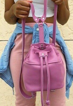Розовая сумка кисет