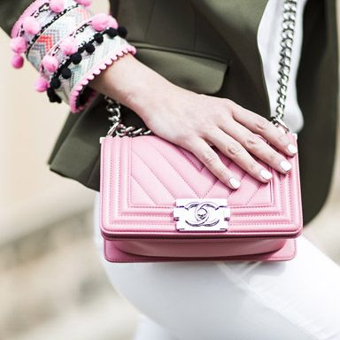 Розовая сумка-клатч