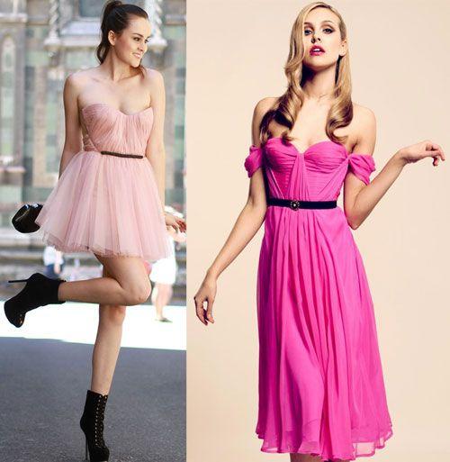 Вечерние платья в розовом тоне