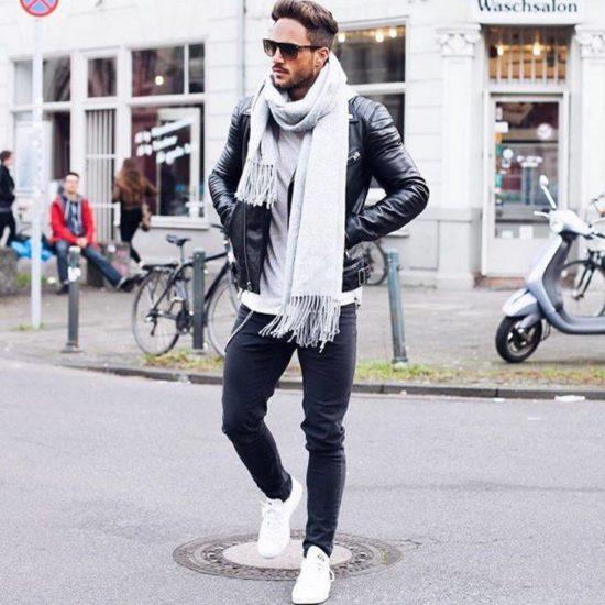 куртка с кроссовками
