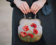 валяная сумка из шерсти своими руками