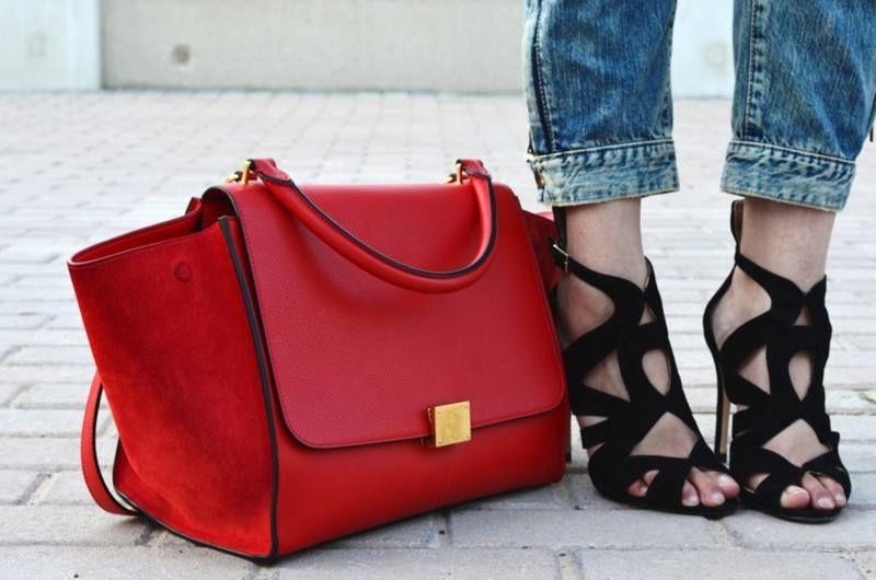 сочетание с обувью