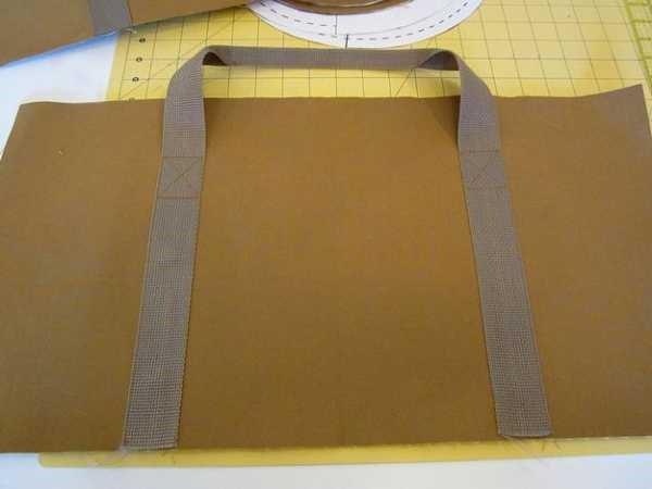 спортивная желтая сумка пришили 2 лямки