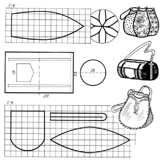спортивная сумка-банан