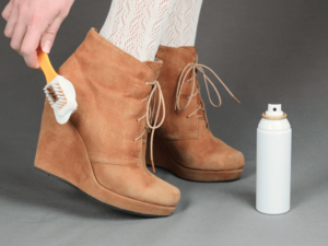 как ухаживать за обувью из нубука