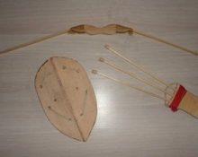 лук колчан стрелы