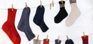 Как стирать шерстяные носки?