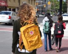 люди с рюкзаками