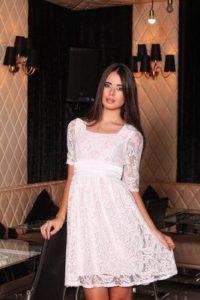 Подкладка для белого прозрачного платья