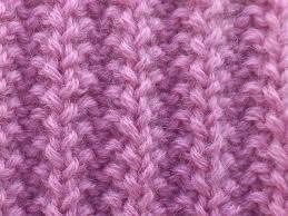 вязание узора резинка спицами