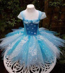 сшить новогоднее платье для девочки своими руками