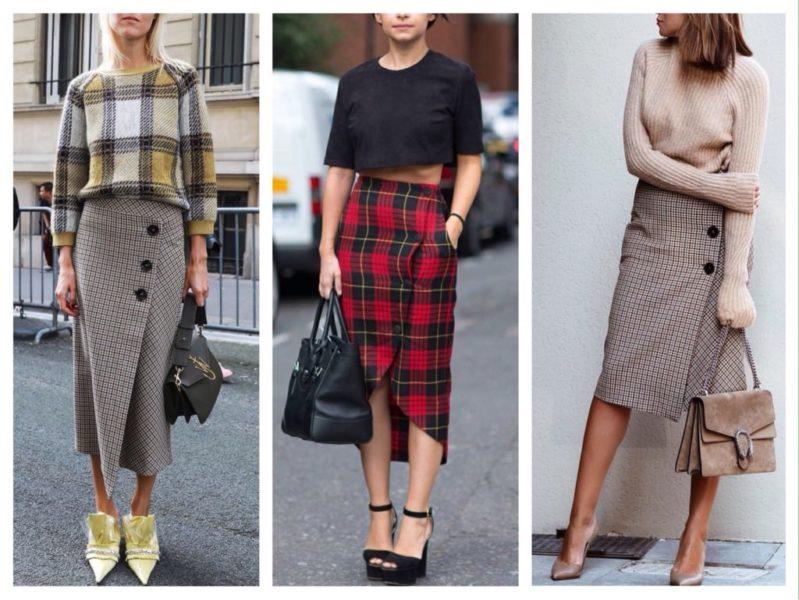 обувь к шерстяным юбкам