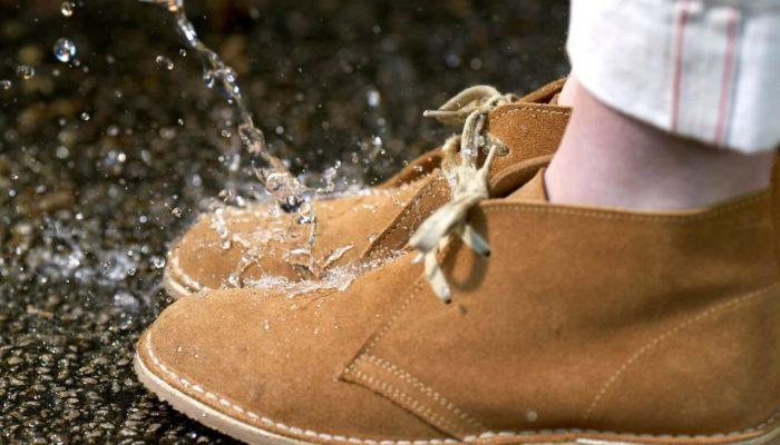 замшевая обувь уход