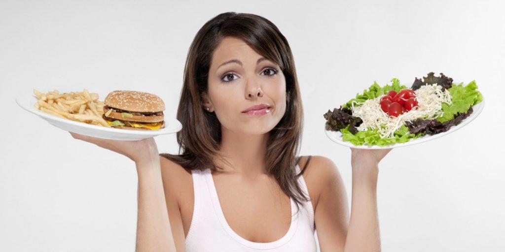 питание успешной женщины