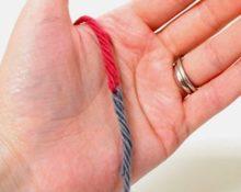 как связать нитки без узла при вязании