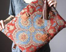 сумки из мебельной ткани своими руками